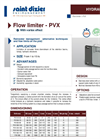 Model PVX - Flow Limiter Brochure