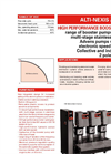Model Alti-Nexis Advens - High-Efficiency Booster Pump - Brochure