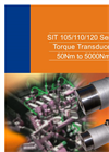 SIT 105/110/120 Series - Torque Transducer 50Nm to 5000Nm Datasheet