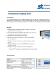 Transducer Display ETD Datasheet