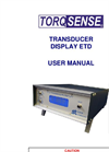 Transducer Display ETD Manual