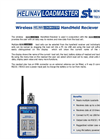 HeliNav LoadMaster Wireless Handheld Receiver Datasheet