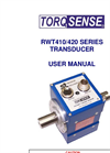 TorqSense - RWT410/420 Series - Digital Transducers - User Manual