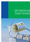 TorqSense - Model ORT230/240 - Optical Torque Transducers - Brochure