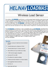 HeliNav LoadMaster - Model HLM-LC Series - Wireless Load Sensor - Brochure