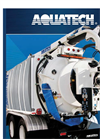 Aquatech - Model Jet/Vac Series - Aquatech Sewer Cleaning Trucks Brochure