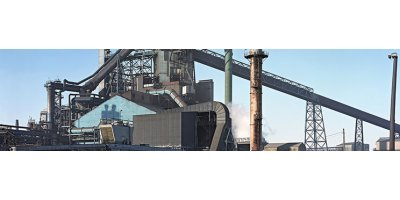Continuous emissions monitoring for steel plant