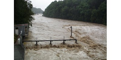 Water monitoring technology for flood warning