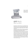 Radar Sensor Non-contact Water Level Measurement OTT RLS - Leaflet