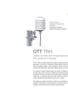 OTT TRH Digital Humidity and Temperature Sensor with Protective Housing - Leaflet
