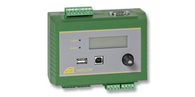 OTT Hydromet - Model netDL 500 and 1000 - Data Logger