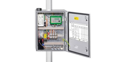 OTT MetSystems - Control Cabinets with Integrated Components for Automatic Weather Stations