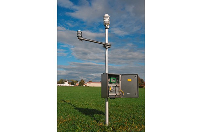 System Cabinets With Integrated Components for Automatic Weather Stations-4