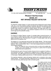 Model M/1 - Low Voltage Holiday Detector - Manual