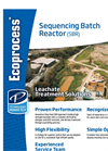 Ecoprocess - Sequencing Batch Reactor (SBR) - Leachate Treatment Solutions