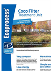 Ecoprocess Coco Filter - Treatment Unit Flyer