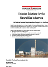 Emission Solutions for the Natural Gas Industries Brochure
