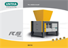 RS150 Four-Shaft Industrial Shredders Brochure