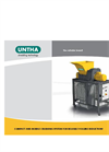 UNTHA - Model S25 - Compact Universal Shredder - Brochure