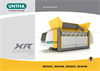UNTHA - Model XR2000/3000 - Low-speed Waste Shredder - Brochure