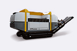 UNTHA - Model XR3000 mobil-e - Mobile Electromechanical Shredding System for Efficient Waste Processing
