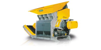 XR Series - Municipal Solid Waste Shredder - Industrial solid waste shredder - Primary shredders