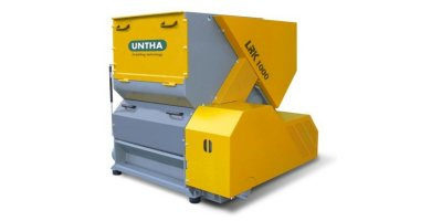 UNTHA - Model LRK1000/1400 - Reliable Shredder for Individual Plastic Applications