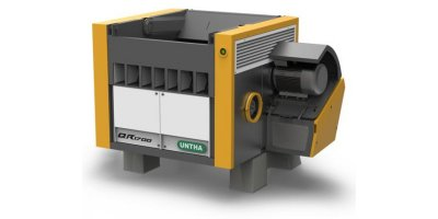 UNTHA - Model QR800-2100 - Plastic Shredder - Single Shaft Shredder
