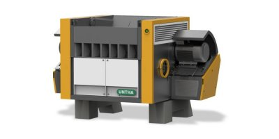 UNTHA - Model QR1700-2100 - Shredders for Waste Wood and Pallets