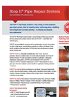 Stop It - Pipe Repair System - Datasheet