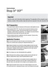 Stop It HP - Product Instructions Manual