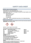 CR-E Resin Medium Temp (MT) - Material Safety Data Sheet