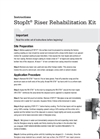 StopIt - Gas Riser Rehabilitation Kit - Instructions Manual