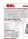 Model CTS-M5 Series - Toxic Gas Transmitter/Sensors Brochure