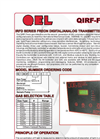 Model QIRF Series - Dual Channel Freon Gas Detectors Brochure