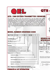 Model QTS-1300 Series - Oxygen Transmitter/Sensors Brochure