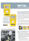 Model BW Clip Series - Single Gas Detectors Brochure