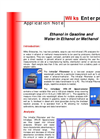 Ethanol in Gasoline and Water in Ethanol - Brochure