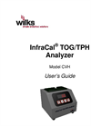 InfraCal 2 - Model ATR-SP - Oil in Water/Soil Analyzers - User Manual