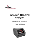 InfraCal - Model HATR-T2 and CH - TOG/TPH Analyzer - User Manual