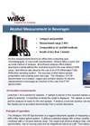 Alcohol in Beverages Spectrometer - Brochure