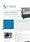 Spectroil - Model M/N-W - Military Oil Analysis Spectrometer - Datasheet