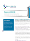 Spectroil - Model Q100 - RDE Atomic Emission Spectrometer for Wear Metal Analysis - Datasheet