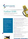 FluidScan Q1000 Portable Fluid Condition Monitor - Datasheet