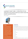 White Paper - Lasernet Fines Q200 – A Solution to Oil Analysis Including Particle Count and Particle Shape Classification - Brochure