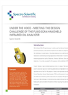White Paper - Under the Hood - Meeting the Design Challenge of the Fluidscan Handheld Infrared Oil Analyzer