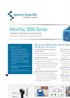 MiniVisc 3000 - Portable Kinematic Viscometer - Datasheet
