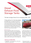 Diesel Exhaust Fluid Storage Tanks Brochure