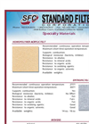Specialty Material Descriptions and Specifications Brochure