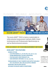 Ecom - Model 2KN Pro Tech - Portable Emissions Analyzers Brochure